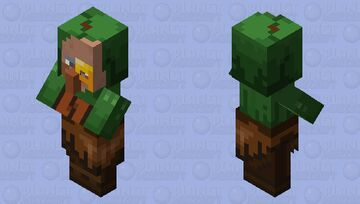 Village Merchant Minecraft Dungeons Minecraft Mob Skin