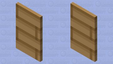 Basic Wood Cape Minecraft Mob Skin