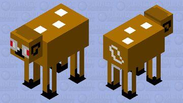 Bambi but fat Minecraft Mob Skin