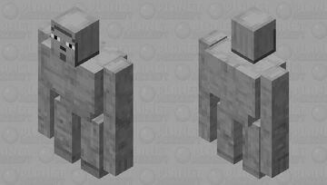 Golem Minecraft Mob Skin