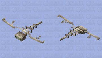 Phantom Skeleton (Vanilla) Minecraft Mob Skin