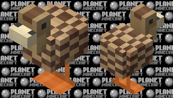 Brown Duck Minecraft Skin