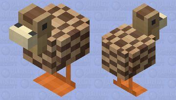 Brown Duck Minecraft Mob Skin
