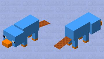 Perry the Platypus 1 (my 1# mob skin)