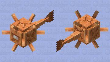 Copper Guardian Minecraft Mob Skin