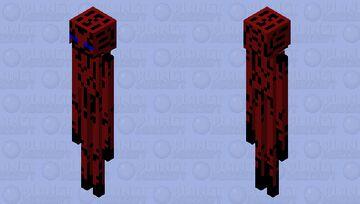 Scary enderman Minecraft Mob Skin