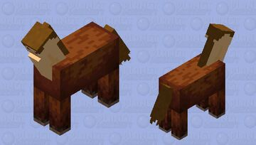 Your totally normal everyday centaur Minecraft Mob Skin