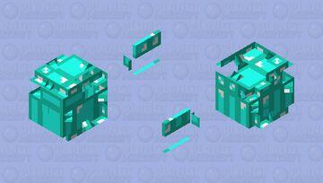 Skeppy Guardian Minecraft Mob Skin