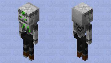 Skeleton Wizard Minecraft Mob Skin