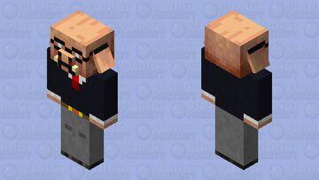 Piglin gold manager Minecraft Mob Skin