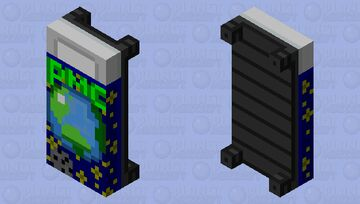 PMC Theme Bed Minecraft Mob Skin