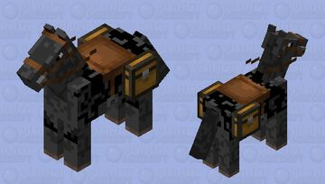 My horse Minecraft Mob Skin