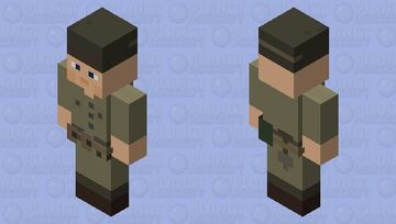 French Foreign Legion Indochina Version Minecraft Mob Skin