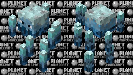 Frozen Blaze Minecraft Skin