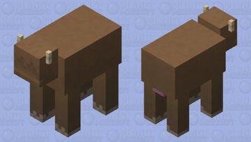 Bantha Minecraft Mob Skin