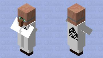 Scientist SCP Minecraft Mob Skin