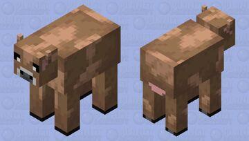 Brown Mooshroom Edit Minecraft Mob Skin