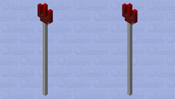 A weird fork Minecraft Mob Skin