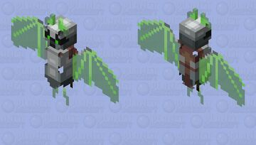 Plasma bat - Night vision Minecraft Mob Skin