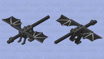 Mechanical ender dragon Minecraft Mob Skin