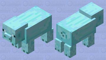 Frosty Pig Minecraft Mob Skin