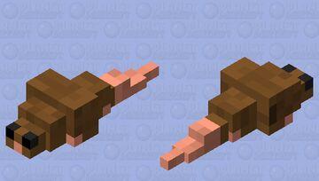 Rat v1 Minecraft Mob Skin