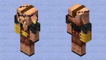 My Idea For the Piglin Brute: No Helmet Minecraft Mob Skin