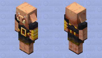 Hd Piglin Brute Minecraft Mob Skin