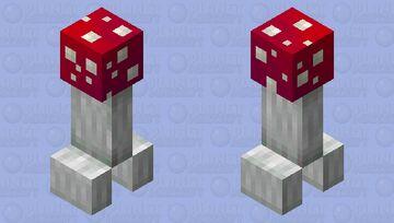 Mushroom creeper Minecraft Mob Skin