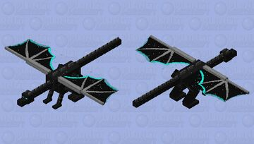 Sky dragon Minecraft Mob Skin