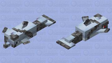 cyber-dolphin Minecraft Mob Skin