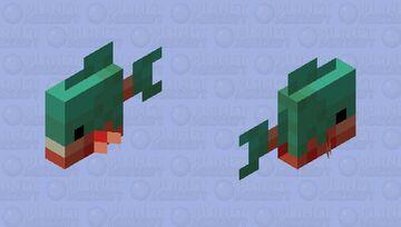 Piranha Minecraft Mob Skin