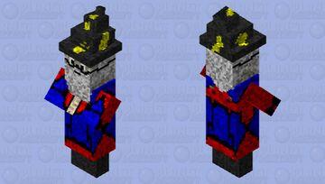 Wizard Man Minecraft Mob Skin