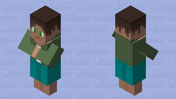 Base Villager (Male) Minecraft Mob Skin