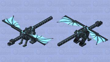 Dragon in Despair Minecraft Mob Skin