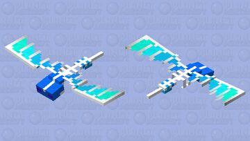 Glacial Phantom Minecraft Mob Skin