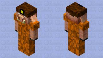 Miner Piglin Minecraft Mob Skin