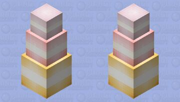 Stack of macarons♡ Minecraft Mob Skin