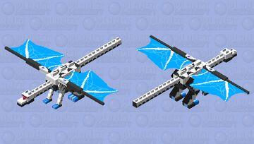 Lunatech-Siegfried, Guardian of the Moonlight Throne Minecraft Mob Skin