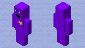 Purple Guy go chop chop Minecraft Mob Skin