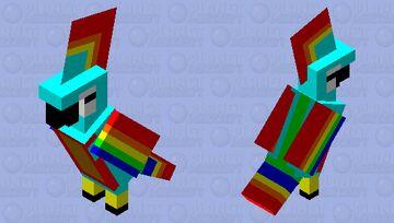 Brown Bellied Tropi Minecraft Mob Skin