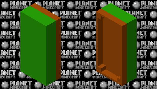 block bed Minecraft Skin