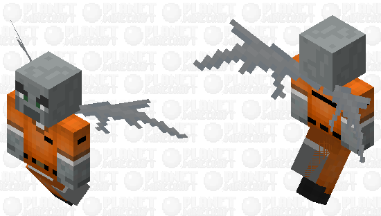illager prisoner Minecraft Skin