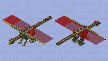 Hyper Tech Dragon, Covid19 Minecraft Mob Skin