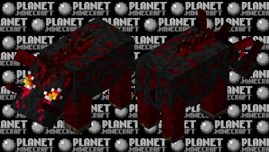 Firewart Hoglin Minecraft Skin