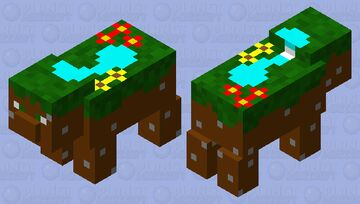 land and water!!! Minecraft Mob Skin
