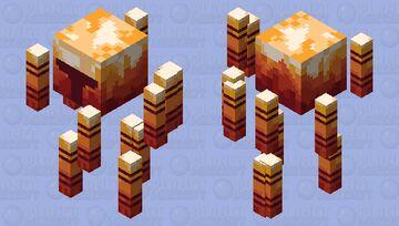 A blaze ready for war || [HD] Minecraft Mob Skin