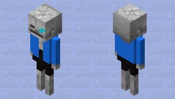 sans Minecraft Mob Skin