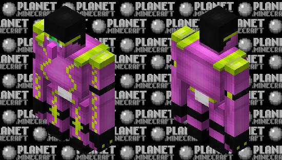 Angry spirit (Star platinum) Minecraft Skin