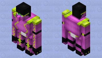 Angry spirit (Star platinum) Minecraft Mob Skin